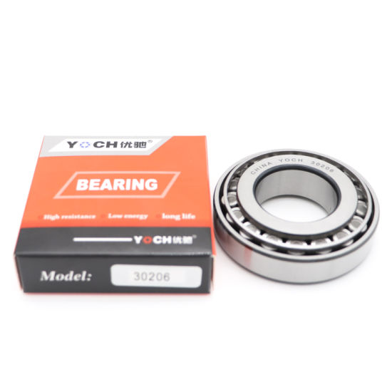 Original Yoch Taper Roller Bearing 30202 30204 30206 30208 30210 Used for Motor Motorcycles Bearing