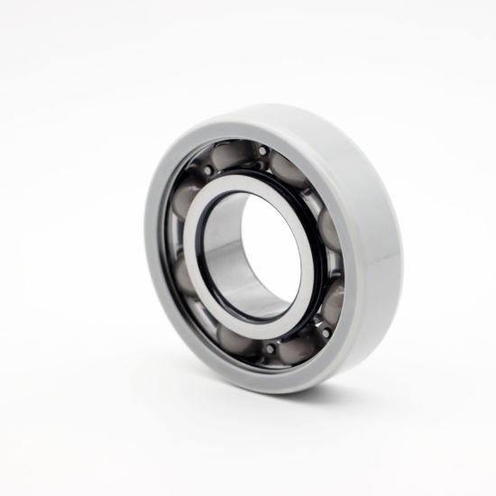 Manufacturing Electrical Insulation Deep Groove Ball Bearings 6301 M/C3vl0241