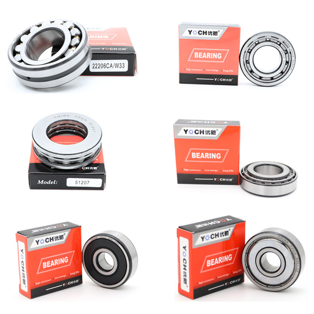 Manufacturer/Distributor YOCH bearing High Precision High Quality 3000 Series Tapered Roller Bearing 30207 Auto Parts Bearing