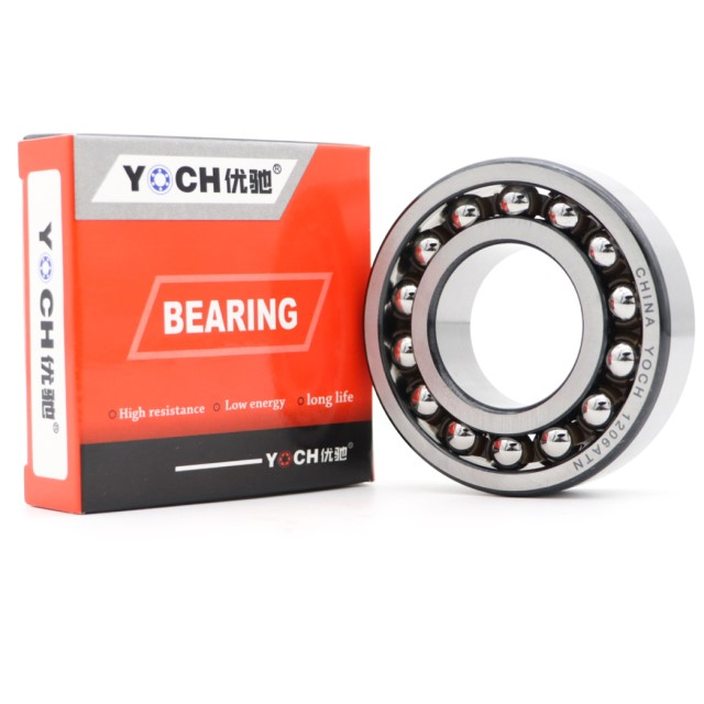 Good performance sealed YOCH Self-Aligning Ball Bearings 1210