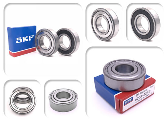 SKF Bearing Steel Deep Groove Ball Bearings 6000series 6200series 6300series for Auto/Motorbike/Agricultural Machinery Accessories