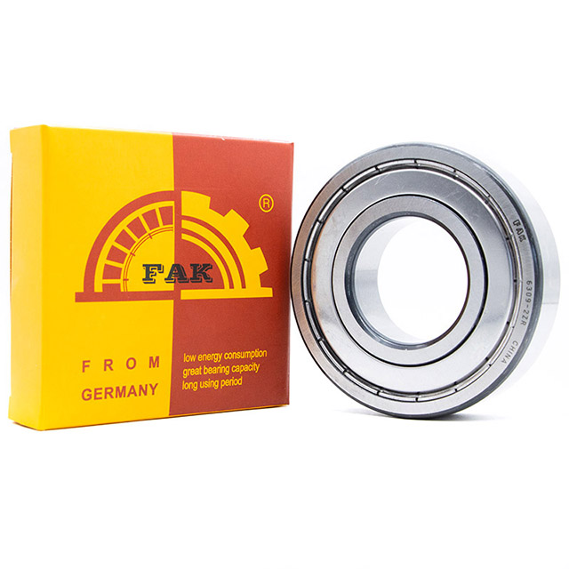 Auto Parts FAK Deep Groove Ball Bearing 608 Z